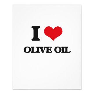 "I Love Olive Oil 4.5"" X 5.6"" Flyer"