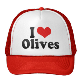 I Love Olives Trucker Hat