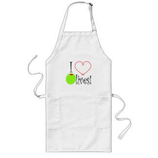 I Love Olives! Long Apron