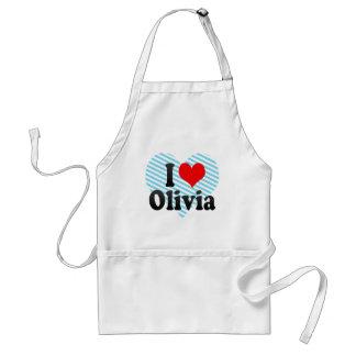 I love Olivia Adult Apron