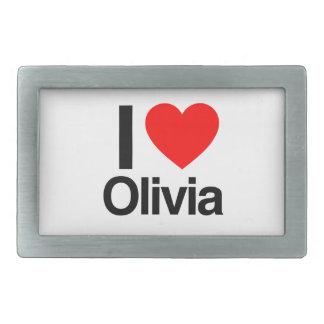 i love olivia belt buckle