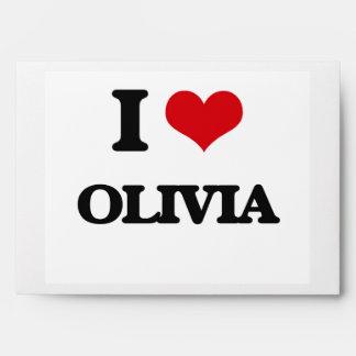 I Love Olivia Envelope