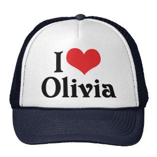 I Love Olivia Hats
