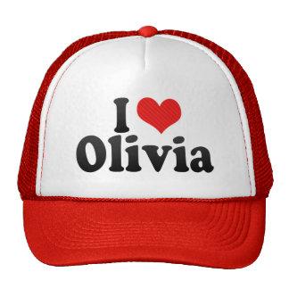 I Love Olivia Mesh Hats
