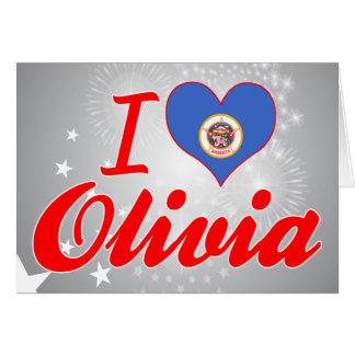 I Love Olivia, Minnesota Card