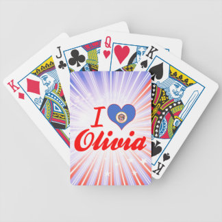 I Love Olivia, Minnesota Card Deck