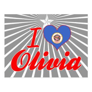 I Love Olivia, Minnesota Post Cards