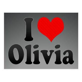 I love Olivia Post Cards