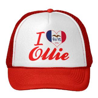 I Love Ollie, Iowa Trucker Hats