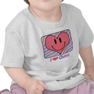 I Love Oma T-shirts