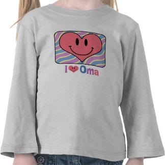 I Love Oma Tshirts