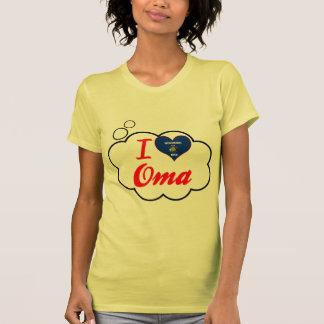 I Love Oma, Wisconsin T-shirts