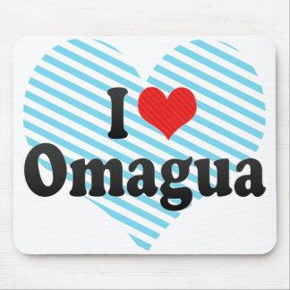 I Love Omagua Mouse Pad