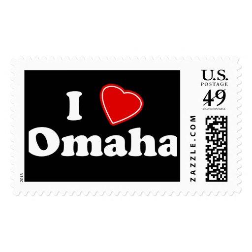 I Love Omaha Postage