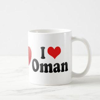 I Love Oman Classic White Coffee Mug