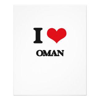 I Love Oman Flyer