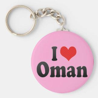 I Love Oman Keychains