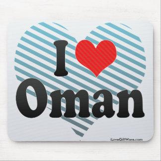 I Love Oman Mouse Pad