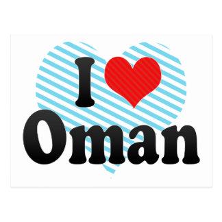 I Love Oman Postcard