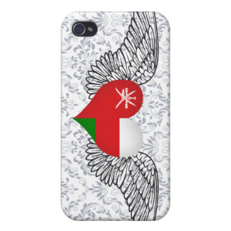 I Love Oman -wings iPhone 4/4S Cover