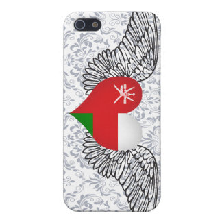 I Love Oman -wings iPhone 5/5S Cases