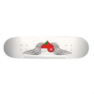 I Love Oman -wings Skateboard Deck