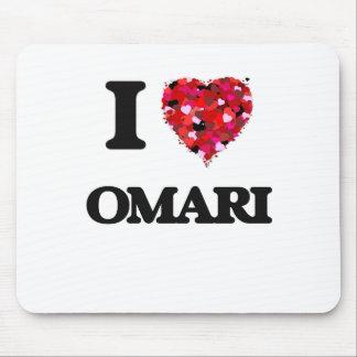 I Love Omari Mouse Pad