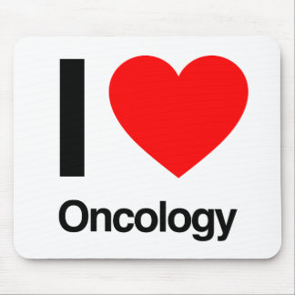 i love oncology mouse pad