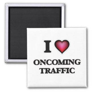 I Love Oncoming Traffic Magnet