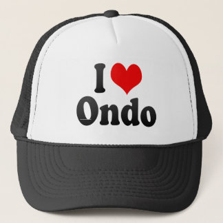 I Love Ondo, Nigeria Trucker Hat