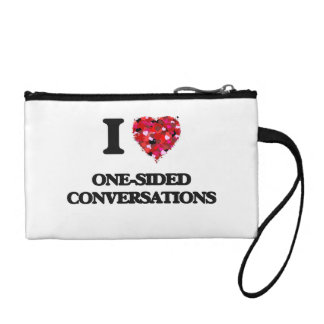 I Love One-Sided Conversations Coin Wallet