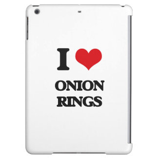 I Love Onion Rings iPad Air Cover