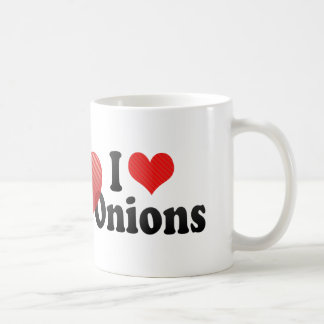 I Love Onions Coffee Mug