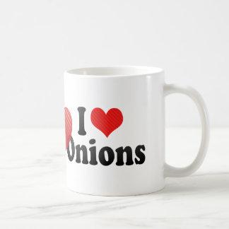 I Love Onions Coffee Mug