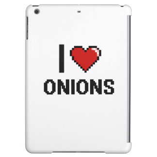 I Love Onions Case For iPad Air