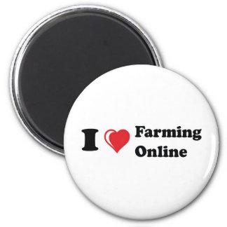 i love online farming magnet