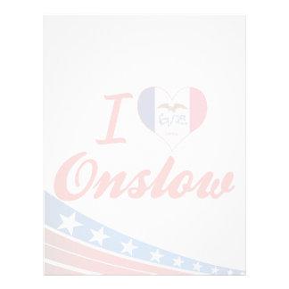 I Love Onslow, Iowa Letterhead Design