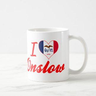 I Love Onslow, Iowa Mug