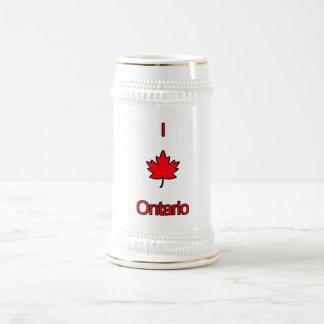 I Love Ontario Beer Stein