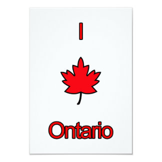I Love Ontario Card
