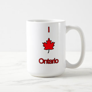 I Love Ontario Coffee Mug