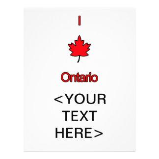 I Love Ontario Flyer
