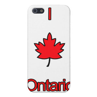 I Love Ontario iPhone SE/5/5s Cover