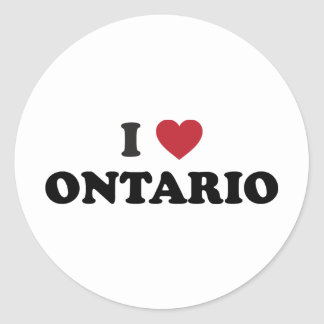 I Love Ontario Sticker