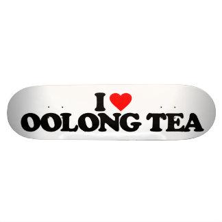 I LOVE OOLONG TEA SKATEBOARD DECK