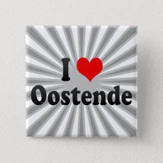 I Love Oostende, Belgium Button