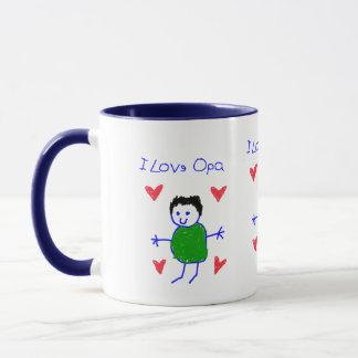 I Love Opa Mug