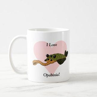 I Love Opabinia! Coffee Mug