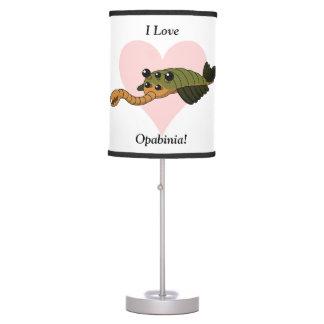 I Love Opabinia! Desk Lamp