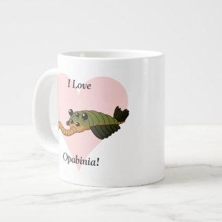 I Love Opabinia! Giant Coffee Mug